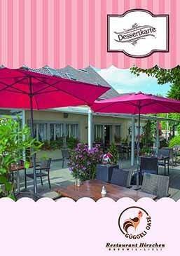 Dessertkarte Restaurant Hirschen Lieli