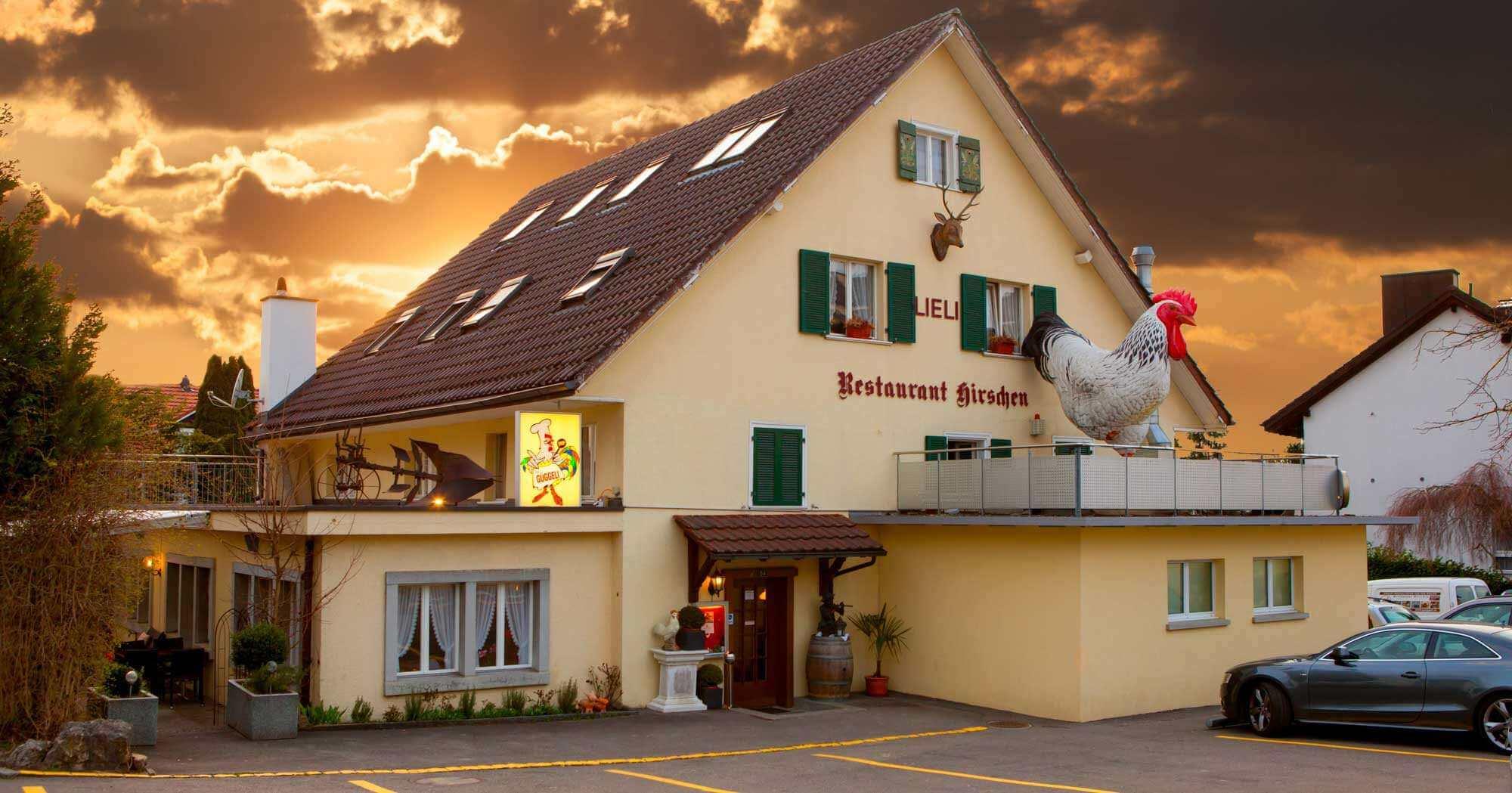 Restaurant Hirschen Lieli Güggeli Oase